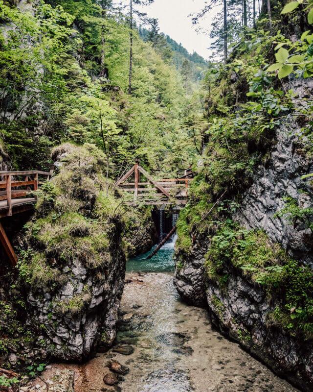 Mendlingtal Gorge